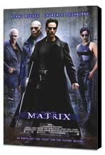 The Matrix - 11 x 17 Movie Poster - Style A - Museum Wrapped Canvas