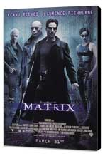 The Matrix - 11 x 17 Movie Poster - Style D - Museum Wrapped Canvas