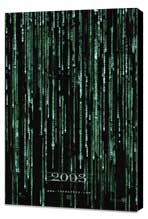 The Matrix Reloaded - 27 x 40 Movie Poster - Style C - Museum Wrapped Canvas