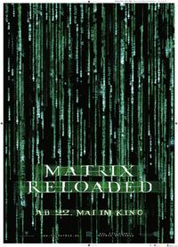 The Matrix Reloaded - 11 x 17 Movie Poster - German Style A