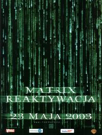 The Matrix Reloaded - 11 x 17 Movie Poster - Polish Style A