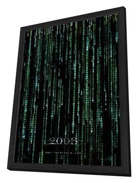The Matrix Reloaded - 11 x 17 Movie Poster - Style N - in Deluxe Wood Frame
