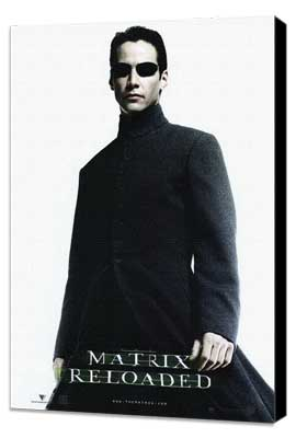 The Matrix Reloaded - 11 x 17 Movie Poster - Style F - Museum Wrapped Canvas
