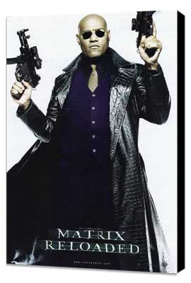 The Matrix Reloaded - 11 x 17 Movie Poster - Style H - Museum Wrapped Canvas