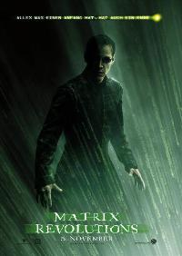 The Matrix Revolutions - 11 x 17 Movie Poster - German Style B