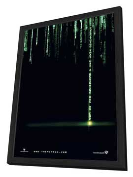 The Matrix Revolutions - 27 x 40 Movie Poster - Style B - in Deluxe Wood Frame