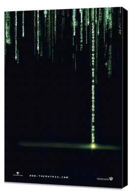 The Matrix Revolutions - 27 x 40 Movie Poster - Style B - Museum Wrapped Canvas