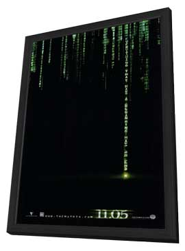 The Matrix Revolutions - 11 x 17 Movie Poster - Style E - in Deluxe Wood Frame