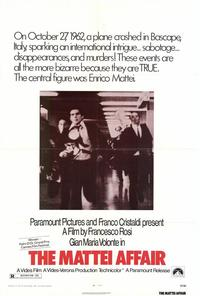 The Mattei Affair - 27 x 40 Movie Poster - Style A