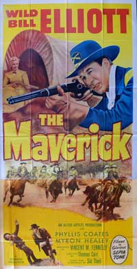 The Maverick - 20 x 40 Movie Poster - Style A