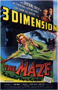 The Maze - 43 x 62 Movie Poster - Bus Shelter Style A
