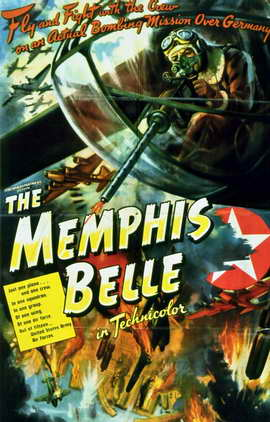 The Memphis Belle: A Story of a Flying Fortress - 11 x 17 Movie Poster - Style A