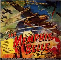 The Memphis Belle: A Story of a Flying Fortress - 11 x 17 Movie Poster - Style B