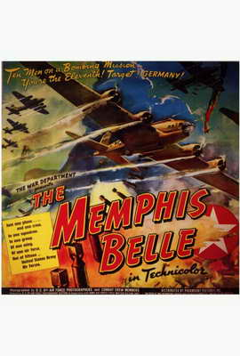 The Memphis Belle: A Story of a Flying Fortress - 27 x 40 Movie Poster - Style B