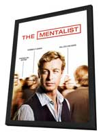 Mentalist, The - 27 x 40 Movie Poster - Style A - in Deluxe Wood Frame