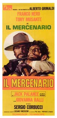 The Mercenary - 13 x 28 Movie Poster - Italian Style A