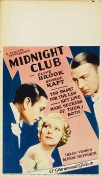 Midnight Club, The - 27 x 40 Movie Poster - Style B