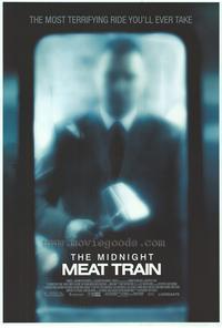 The Midnight Meat Train - 43 x 62 Movie Poster - Bus Shelter Style B