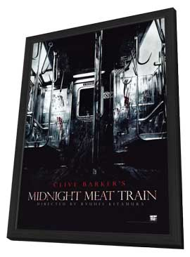 The Midnight Meat Train - 11 x 17 Movie Poster - Style A - in Deluxe Wood Frame
