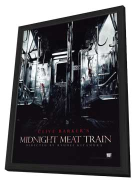 The Midnight Meat Train - 27 x 40 Movie Poster - Style A - in Deluxe Wood Frame