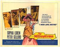 The Millionairess - 22 x 28 Movie Poster - Half Sheet Style A