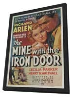 The Mine with the Iron Door - 11 x 17 Movie Poster - Style A - in Deluxe Wood Frame