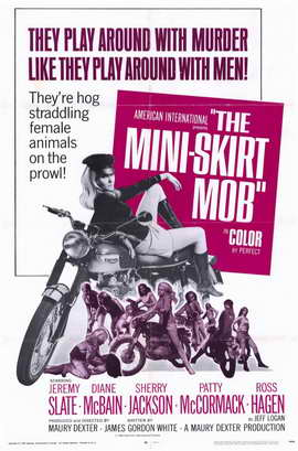 The Mini Skirt Mob - 11 x 17 Movie Poster - Style A