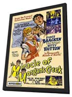 The Miracle of Morgans Creek - 27 x 40 Movie Poster - Style A - in Deluxe Wood Frame
