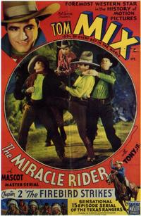 The Miracle Rider - 11 x 17 Movie Poster - Style D