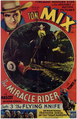 The Miracle Rider - 11 x 17 Movie Poster - Style G