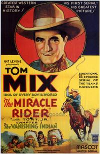 The Miracle Rider - 43 x 62 Movie Poster - Bus Shelter Style A