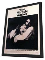 The Miracle Worker - 11 x 17 Movie Poster - Style A - in Deluxe Wood Frame