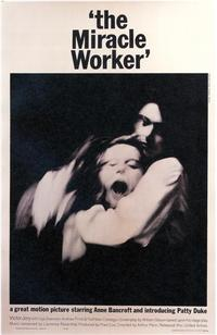 The Miracle Worker - 43 x 62 Movie Poster - Bus Shelter Style A