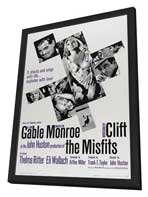 The Misfits - 27 x 40 Movie Poster - Style C - in Deluxe Wood Frame