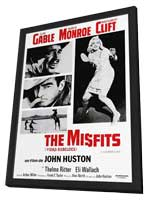 The Misfits - 11 x 17 Movie Poster - Style D - in Deluxe Wood Frame