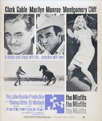The Misfits - 27 x 40 Movie Poster - Style D