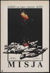 The Mission - 27 x 40 Movie Poster - Polish Style A