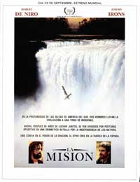 The Mission - 27 x 40 Movie Poster - Spanish Style A