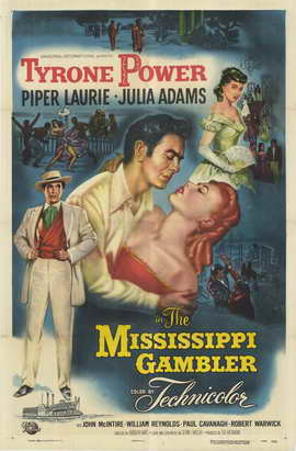 The Mississippi Gambler - 11 x 17 Movie Poster - Style A