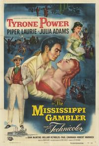 The Mississippi Gambler - 27 x 40 Movie Poster - Style A