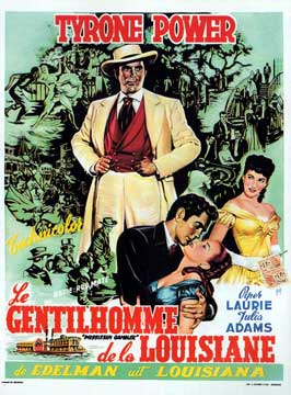 The Mississippi Gambler - 11 x 17 Movie Poster - Belgian Style A