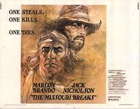 Missouri Breaks, The - 11 x 14 Movie Poster - Style I