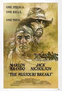 Missouri Breaks, The - 43 x 62 Movie Poster - Bus Shelter Style A