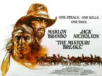 Missouri Breaks, The - 30 x 40 Movie Poster UK - Style A