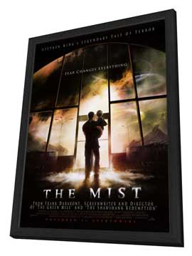 The Mist - 27 x 40 Movie Poster - Style B - in Deluxe Wood Frame