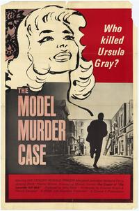 The Model Murder Case - 27 x 40 Movie Poster - Style A