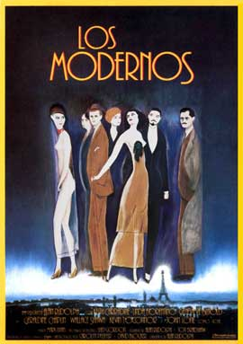 The Moderns - 11 x 17 Movie Poster - Spanish Style A