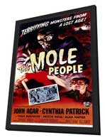 The Mole People - 11 x 17 Movie Poster - Style A - in Deluxe Wood Frame