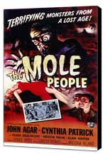 The Mole People - 11 x 17 Movie Poster - Style A - Museum Wrapped Canvas