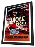 The Mole People - 27 x 40 Movie Poster - Style A - in Deluxe Wood Frame